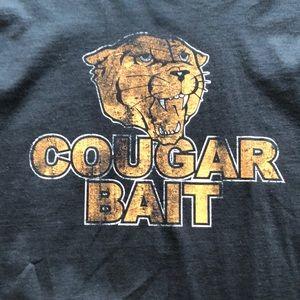 NWOT Fruit of the Loom men's 'Cougar Bait' tshirt